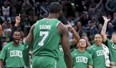 جايلين براون يسجل اكبر عدد نقاط في مسيرته في NBA
