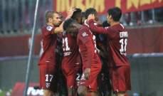 الليغ 1: خسارة مؤلمة لـ موناكو امام ميتز وفوز صعب لـ نيس
