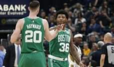 NBA: بوسطن الى النهائيات وغولدن ستايت اول فريق خارج النهائيات لهذا الموسم