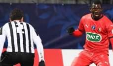 كأس فرنسا: انجيه يعبر إلى الدور المقبل بعد تخطي رين