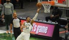 NBA: ميلووكي يعزز تقدمه على ميامي ودنفر يعادل السلسلة مع بورتلاند