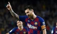 علامات لاعبي مباراة برشلونة واشبيليه