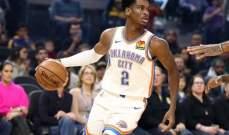 غيليغوس يصبح اصغر لاعب يسجل ثلاثة ارقام مزدوجة في NBA