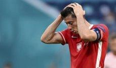 ليفاندوفسكي: لم نكن محظوظين في هذه البطولة