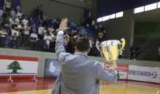 مدير بنك بيروت لكرة الصالات يعلن توقف مسيرة النادي بسبب الاوضاع الاقتصادية