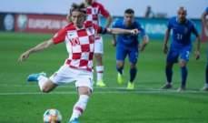 تصفيات يورو 2020: اذربيجان يخطف تعادلاً مثيراً من كرواتيا