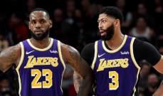 ESPN: ليبرون وديفيس قد يشاركان في مباراة الكليبرز