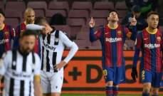الليغا: ميسي يقود برشلونة لتخطي عقبة ليفانتي بصعوبة