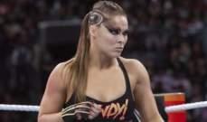 اتحاد المصارعة يعايد روندا راوزي