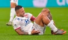 ديباي يغيب عن البطولات الأوروبية بسبب تمزق الرباط الصليبي
