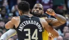 الليكرز يفوز على ميلووكي ليكون اول فريق في نهائيات NBA غربياً