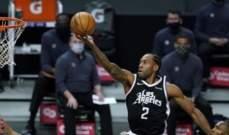 NBA: الكليبرز يتقدم لمقارعة الليكرز في الصدارة غربياً
