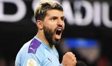 غوارديولا: اغويرو سيشارك في مباراة شيفيلد