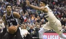 NBA: سان انطونيو يثأر من الباكس ويلحق به الخسارة السادسة هذا الموسم