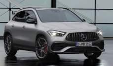 مرسيدس تطرح نموذج جديد من سيارات GLA