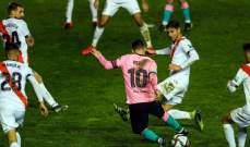 ابرز مجريات مباراة برشلونة ورايو فايكانو
