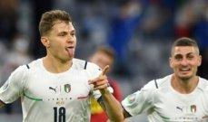 """أمم اوروبا 2020: ايطاليا """"مانشيني"""" تتخطى عقبة بلجيكا لتواجه اسبانيا في نصف النهائي"""