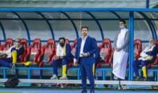 إدارة النصر تتجه نحو إقالة فيتوريا بعد خسارة نهائي كأس ملك