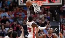 NBA: تورنتو يتلقى الخسارة ال12 له هذا الموسم