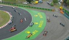 ايقاف سباق المجر بعد حادث كبير