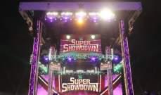 سوبر شو داون: غولدبيرغ يفوز بلقب WWE ورومان راينز ينتصر على كينغ كوربين في القفص الحديدي
