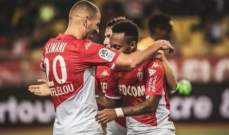 الليغ 1: موناكو يواصل تألقه وتعادل ايجابي لـ انجيه امام اميان