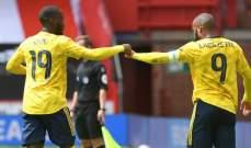 سيبايوس يهدي ارسنال بطاقة التأهل إلى نصف نهائي كأس الاتحاد