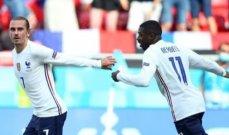 احصاءات لقاء فرنسا والمجر ورجل المباراة