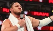 اتحاد المصارعة يغرّم ساموا جو