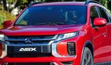 ميتسوبيشي تجري تعديلات على سيارة ASX