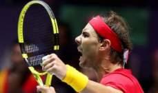 نادال مستمر في صدارة تصنيف لاعبي كرة المضرب المحترفين