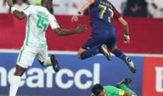 دوري أبطال آسيا: الوحدة يخطف التعادل في الدقيقة الأخيرة أمام الأهلي