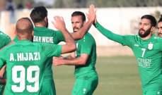 الانصار يفوز على طرابلس ويرفع رصيده الى سبع انتصارات