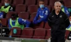 حكم مباراة برشلونة-ليغانيس يكشف سبب طرد اغيري