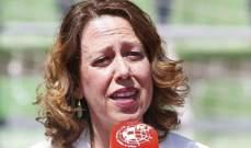 مونوز تقدم استقالتها من الاتحاد الاسباني لكرة القدم