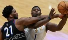 NBA: ميلووكي وفيلادلفيا يسهلان مهمة بروكلين للابتعاد بالصدارة