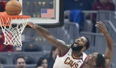 NBA: كليفلاند يسجل الفوز رقم 16 بعد 47 مباراة هذا الموسم