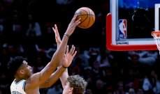 NBA: ميلووكي باكس ينهي عام 2019 بفوز يرفع عدد انتصاراته الى 30