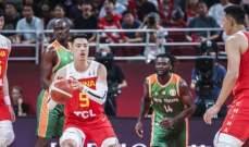 كأس العالم لكرة السلة: التنين الصيني يتخطى ساحل العاج