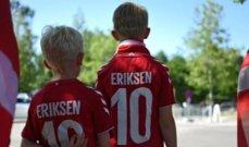 جماهير الدنمارك تدعم اريكسن