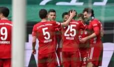 ترتيب الدوري الالماني بعد انتهاء الجولة الـ 25