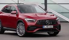 مرسيدس تطرح نموذج جديد من سيارة GLA