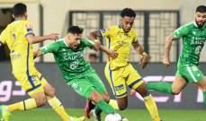 دي باولا ينقذ النصر من الخسارة أمام الأهلي