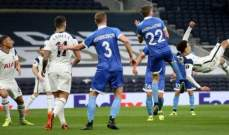 الدوري الاوروبي: توتنهام يكتسح فولفسبرغر ويعبر الى الدور الـ 16 بسهولة