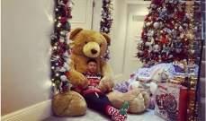لينغارد يستمتع بوقته في فترة الميلاد