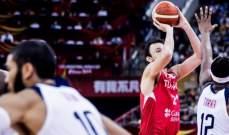 لاعب تركيا: اردنا الخروج بنتيجة ايجابية امام اميركا