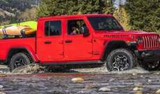 Jeep تطلق سيارة غلادياتور للطرقات الجبلية