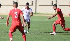 ودياً - منتخب لبنان الاولمبي بخطف تعادلاً ثميناً امام نظيره السوري