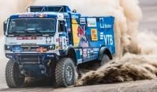 رالي داكار: كارغينوف والفريق الروسي يتصدران المرحلة الثالثة عن فئة الشاحنات