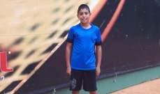 نتائج دورة الشيخ بيار الجميل في التنس